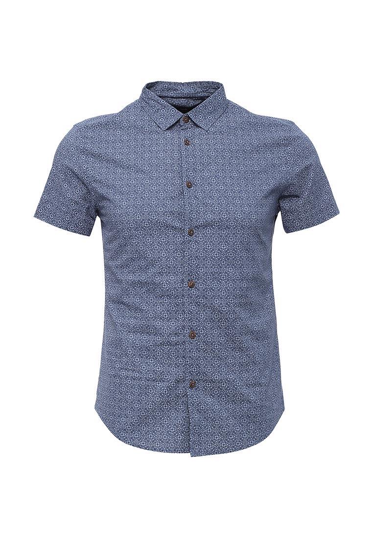 Рубашка с коротким рукавом oodji (Оджи) 3L410109M/24967N/7975G