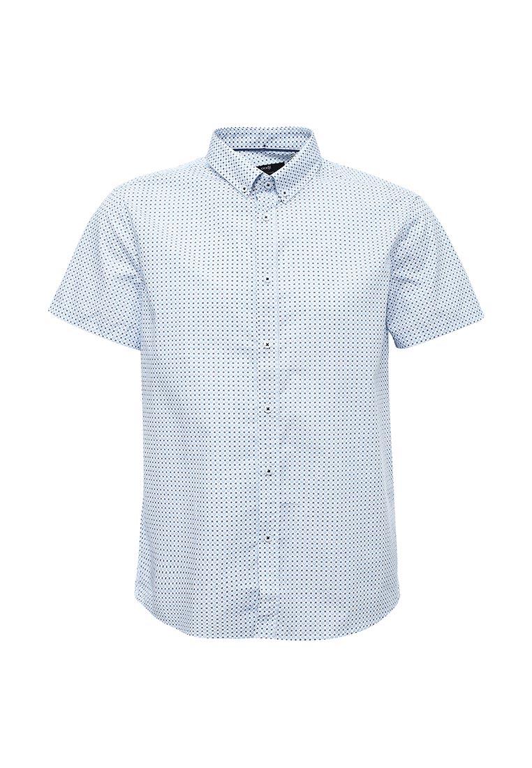 Рубашка с коротким рукавом oodji (Оджи) 3L210049M/19370N/1075G