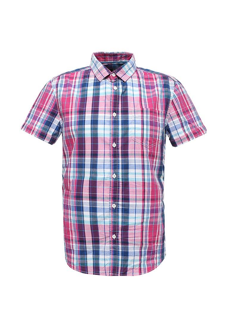 Рубашка с коротким рукавом oodji (Оджи) 3L410100M/34319N/1041C