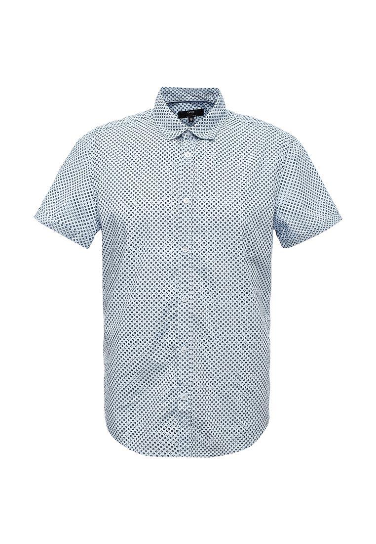 Рубашка с коротким рукавом oodji (Оджи) 3L410108M/39312N/7079G