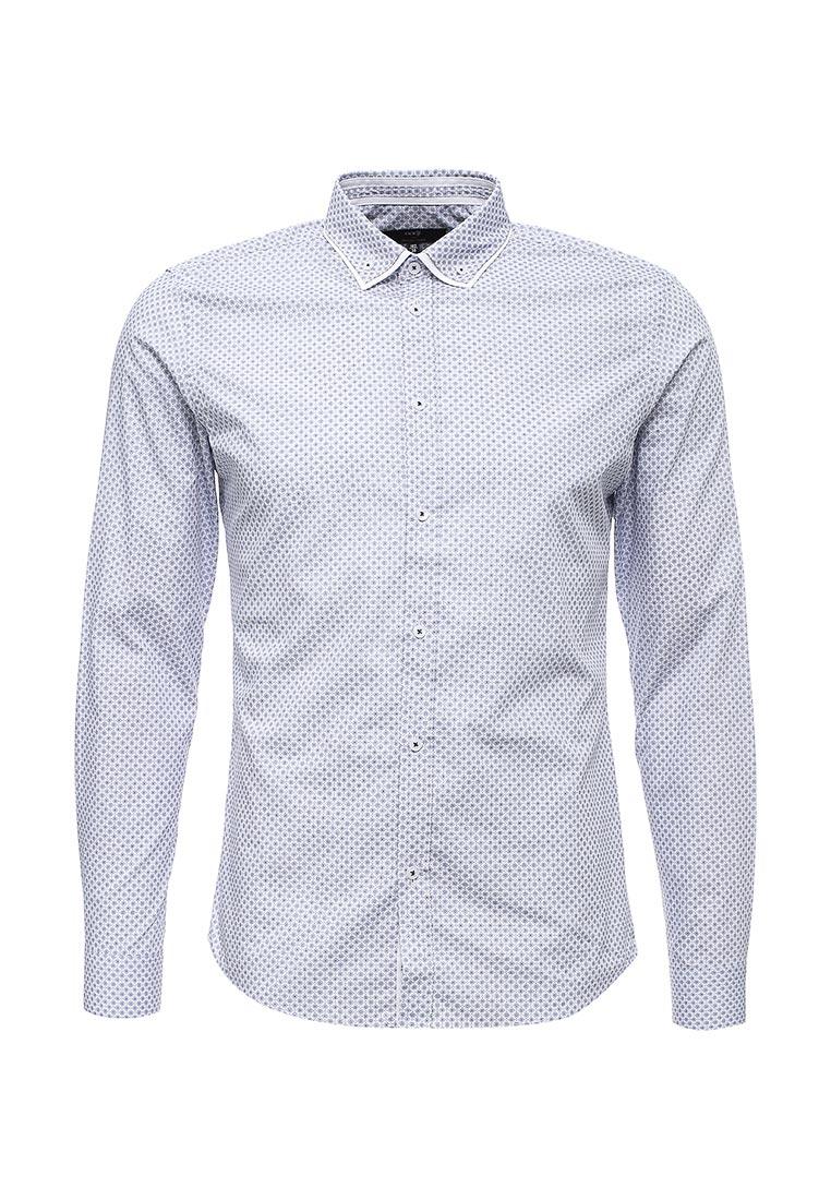 Рубашка с длинным рукавом oodji (Оджи) 3L110268M/44425N/1070G