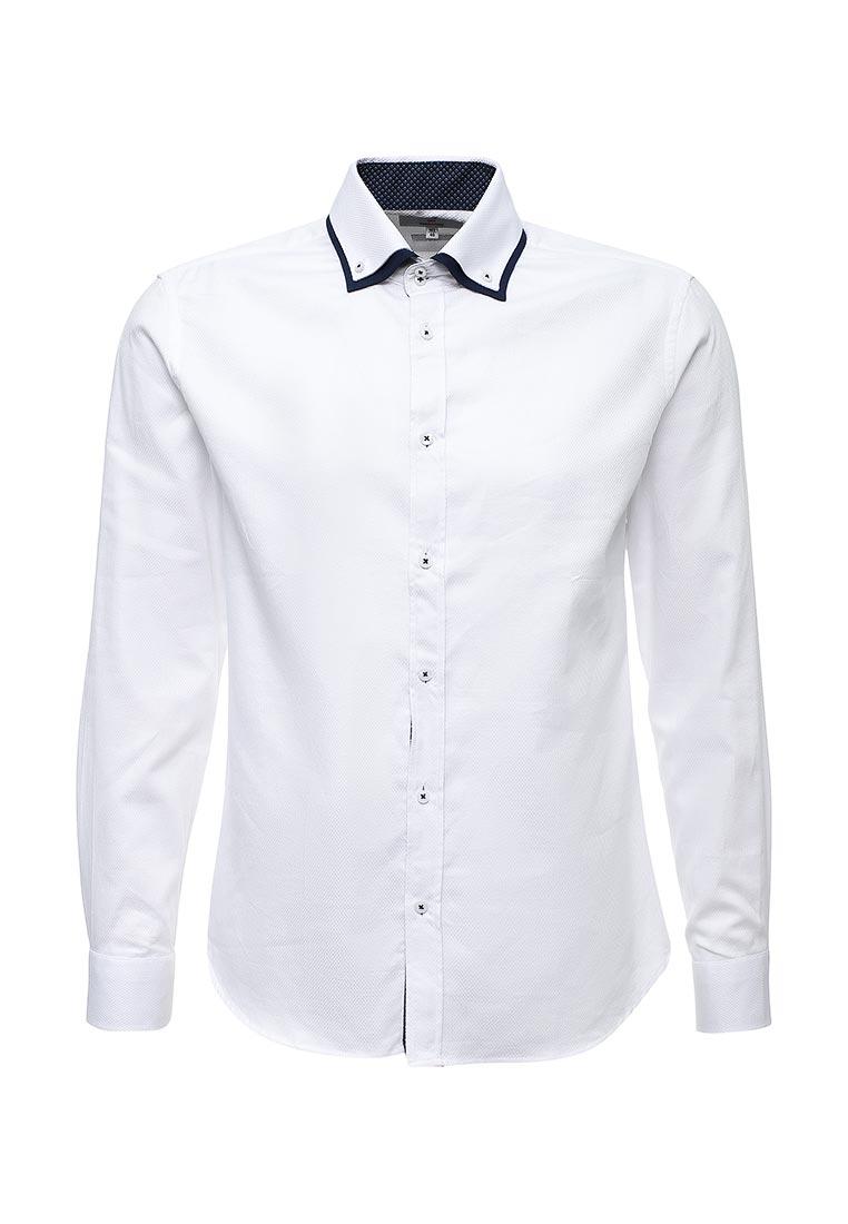 Рубашка с длинным рукавом oodji (Оджи) 3L110267M/47120N/1000B