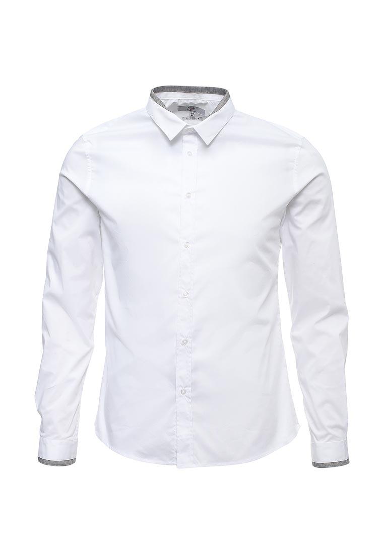 Рубашка с длинным рукавом oodji (Оджи) 3L140114M/34146N/1000N