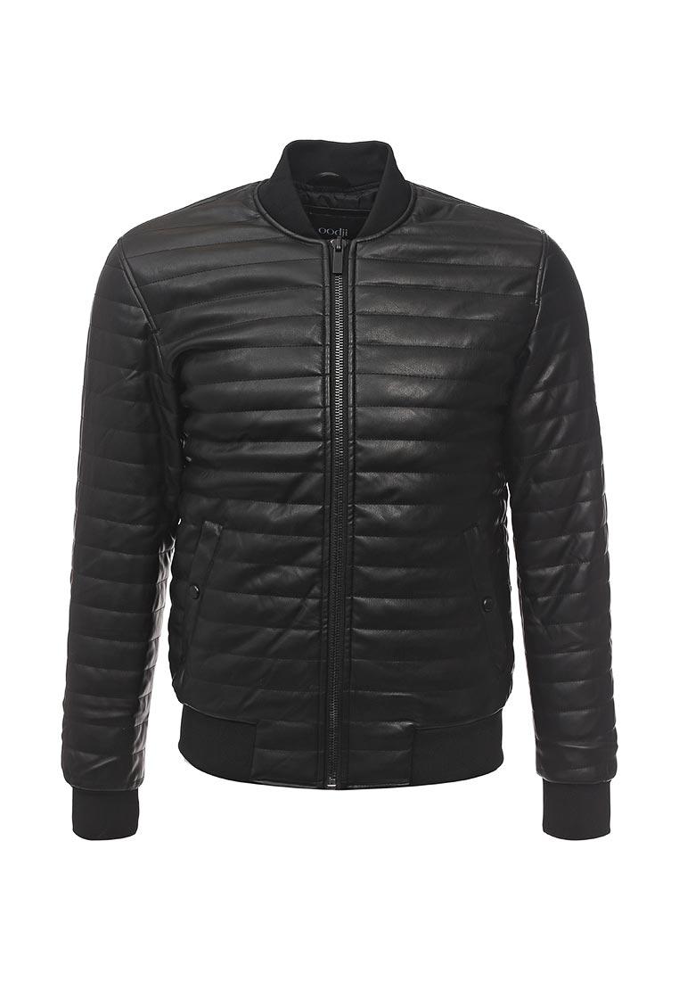 Кожаная куртка oodji (Оджи) 1L511053M/47397N/2900N