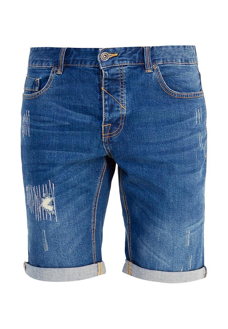 Мужские джинсовые шорты oodji (Оджи) 6L210024M/46627/7800W