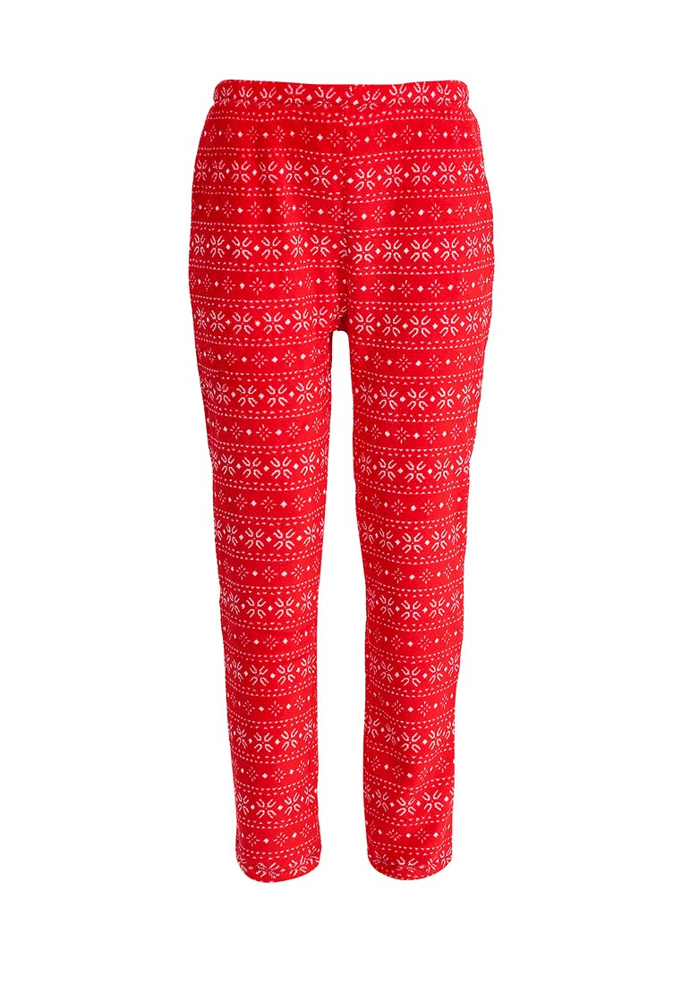 Женские домашние брюки oodji (Оджи) 59807025/38319/4512G