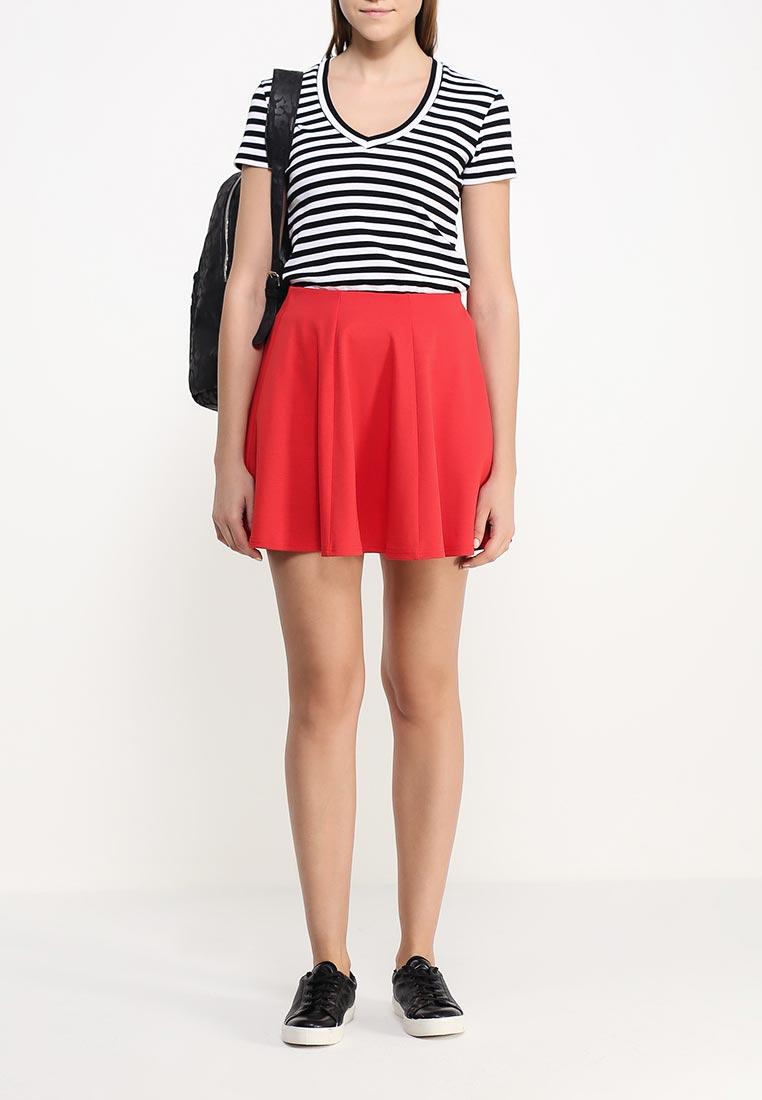 Широкая юбка oodji (Оджи) 14102001B/38261/4500N: изображение 2