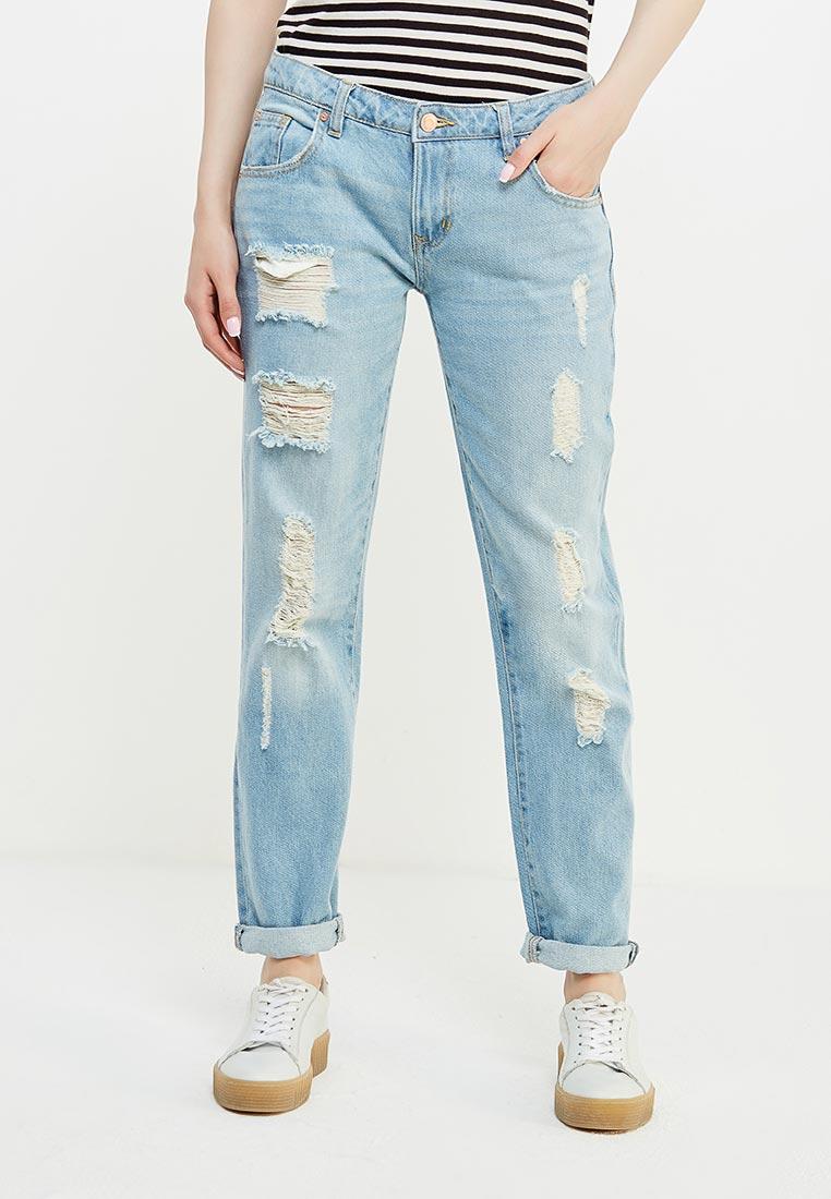 Зауженные джинсы oodji (Оджи) 12105013/45215/7000W