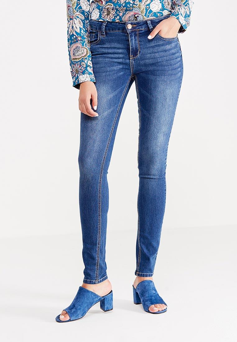 Зауженные джинсы oodji (Оджи) 12103131/24100/7500W
