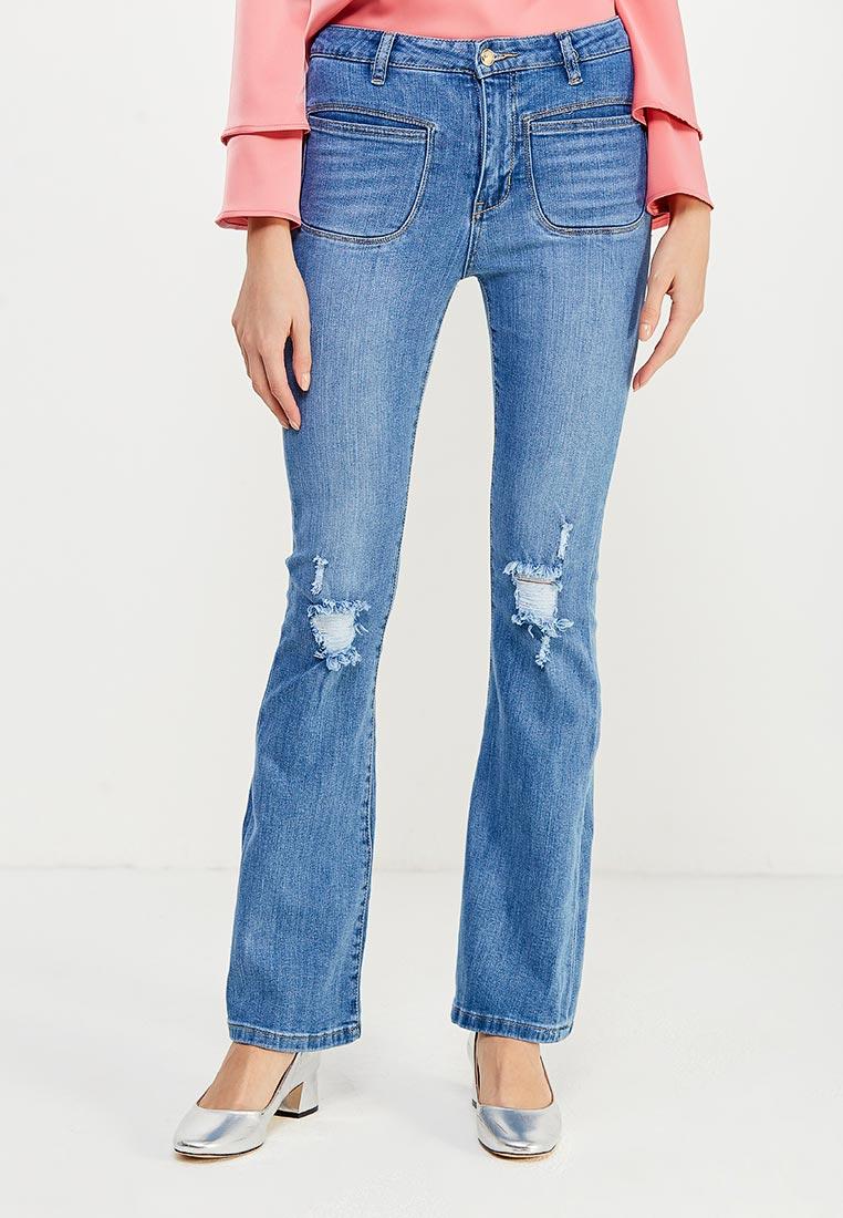 Широкие и расклешенные джинсы oodji (Оджи) 12102078/42879/7500W