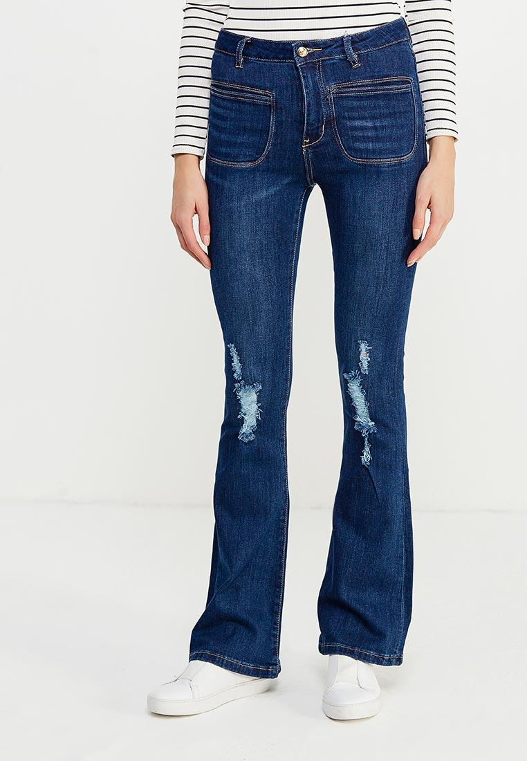 Широкие и расклешенные джинсы oodji (Оджи) 12102078/42879/7900W