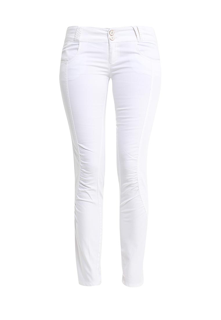 Женские зауженные брюки oodji (Оджи) 11717038/14522/1000N