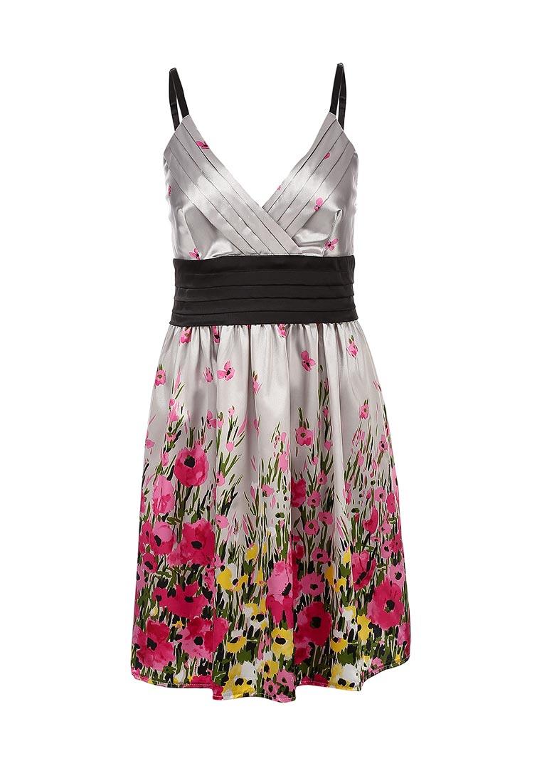Платье-мини oodji (Оджи) 11913000-4/14259/2041F