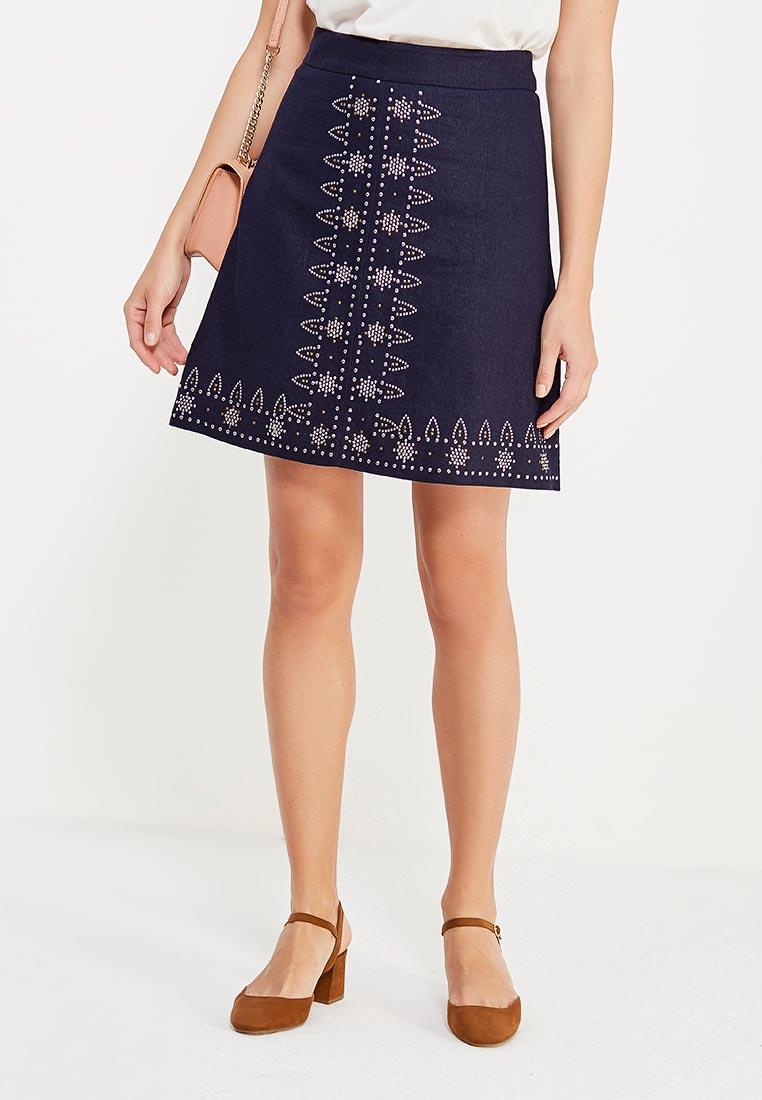 Прямая юбка oodji (Оджи) 11600425/16009/7900N
