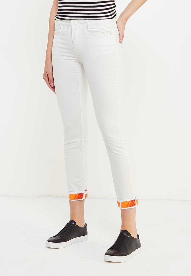 Зауженные джинсы oodji (Оджи) 11717057-1M/36230/2000W