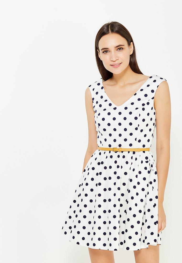 Платье-мини oodji (Оджи) 11913021/19766/1279D
