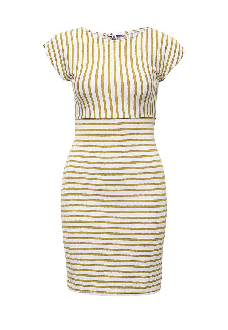 Платье-мини oodji (Оджи) 24001067M/17305/106BS
