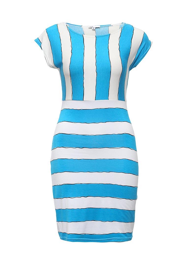 Платье-мини oodji (Оджи) 24001067M/17305/1075S