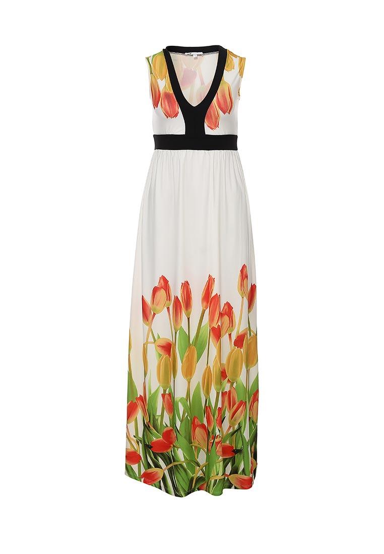 Платье-макси oodji (Оджи) 24008023/26241/1045F