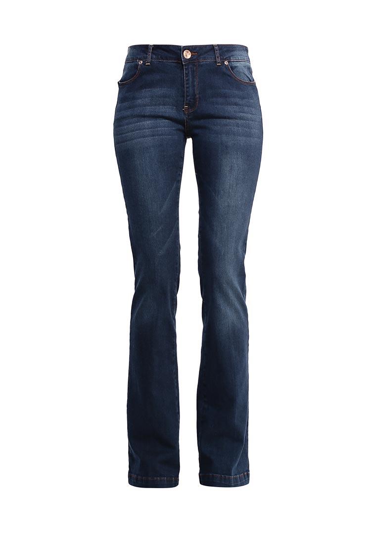 Широкие и расклешенные джинсы oodji (Оджи) 22102015-1/19997/7900W: изображение 1