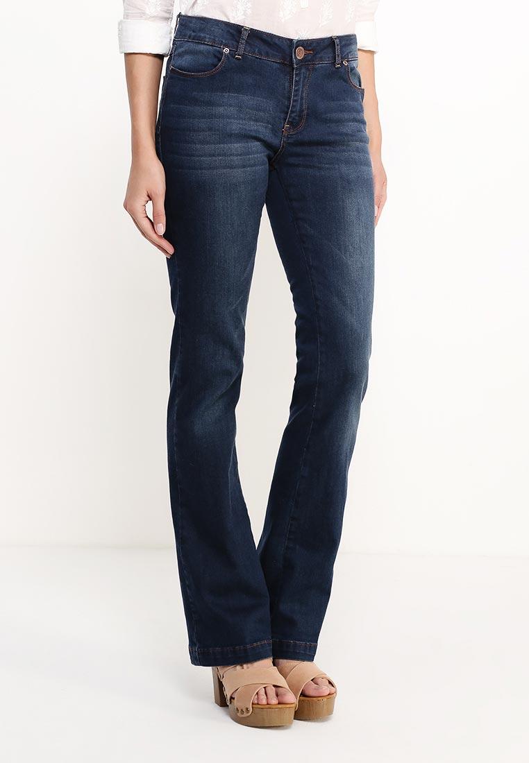 Широкие и расклешенные джинсы oodji (Оджи) 22102015-1/19997/7900W: изображение 3