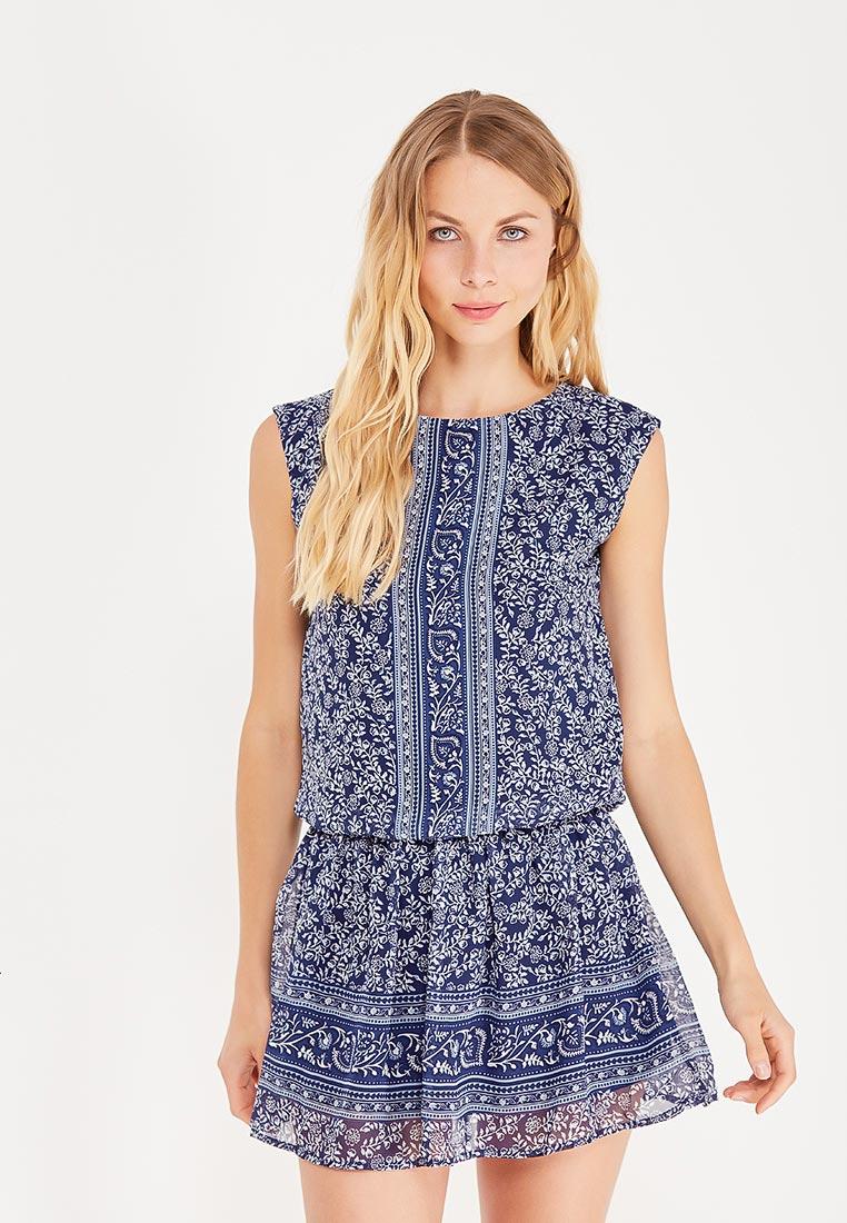 Платье-мини oodji (Оджи) 11900154-3/13632/7512F
