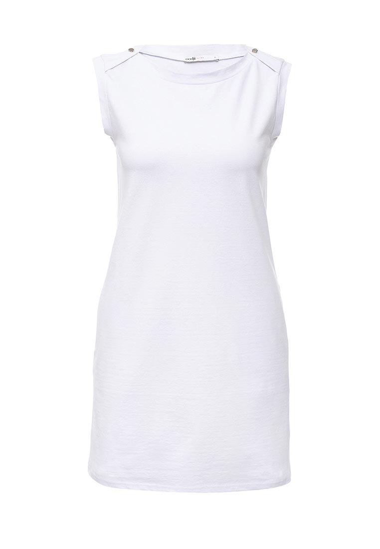 Платье-мини oodji (Оджи) 14005074-1B/46149/1000N