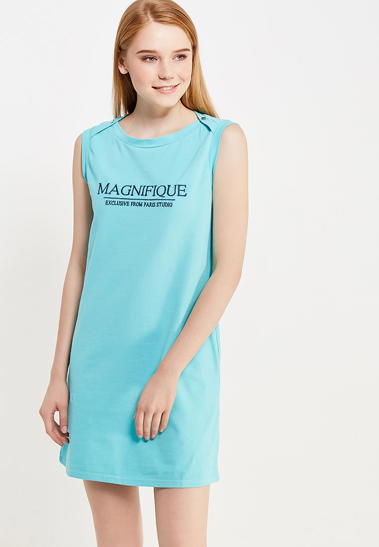 Повседневное платье oodji (Оджи) 14005074-2/46149/7375P