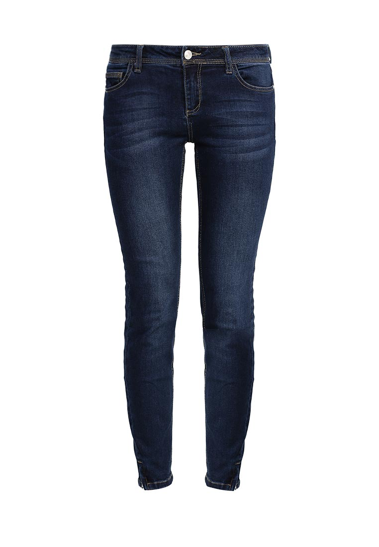 Зауженные джинсы oodji (Оджи) 12105051/45379/7900W