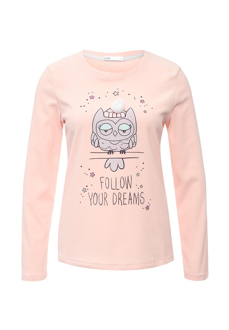 Домашняя футболка oodji (Оджи) 59811012-1/24336/4020P