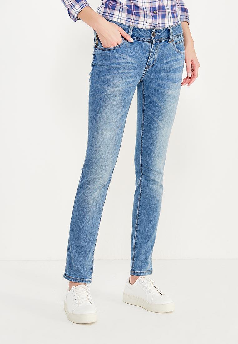 Зауженные джинсы oodji (Оджи) 12103121-1/43322/7500W