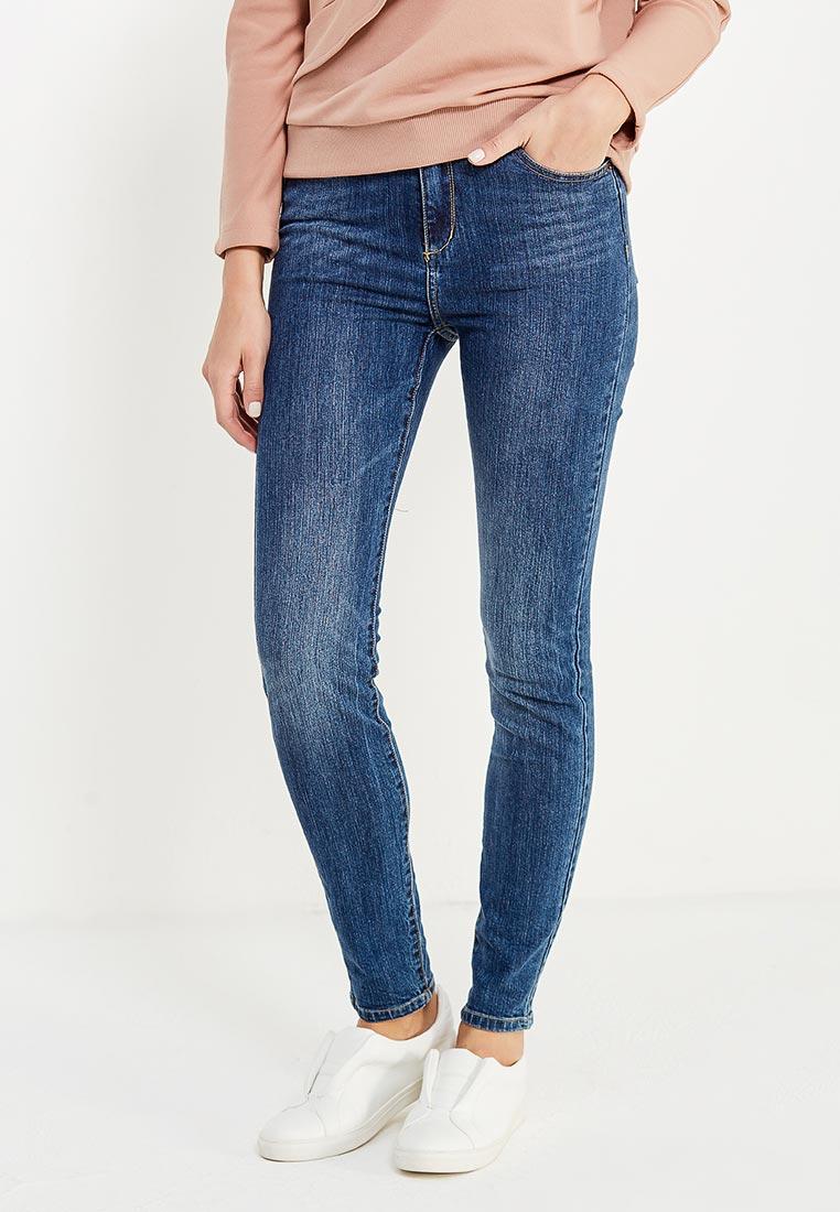 Зауженные джинсы oodji (Оджи) 12103135/45369/7500W