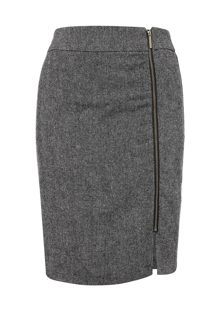 Прямая юбка oodji (Оджи) 21600298/35758/2912M