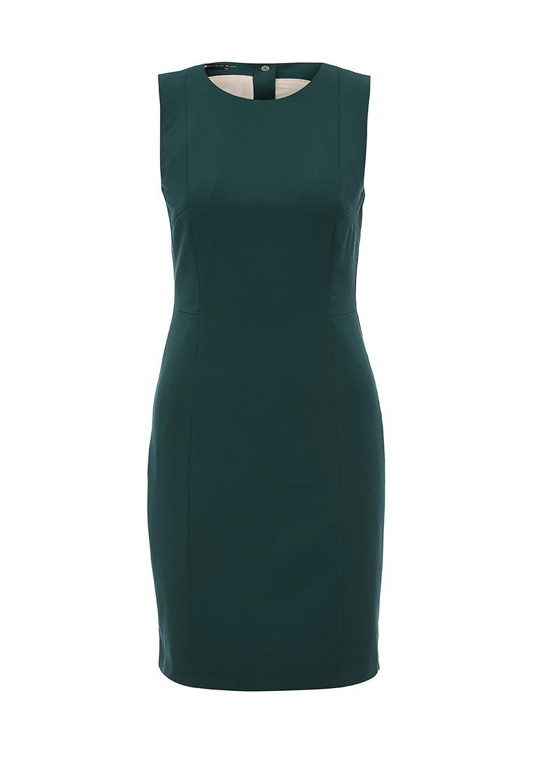 Деловое платье oodji (Оджи) 21902064B/18600/6900N