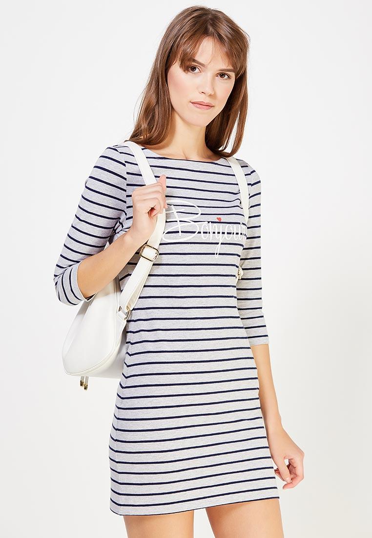 Платье-мини oodji (Оджи) 14001071-7/46148/2379S