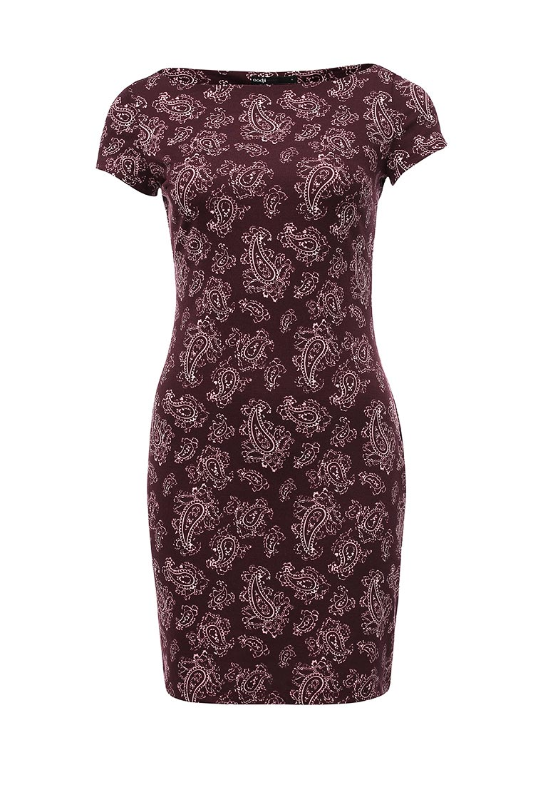Платье-мини oodji (Оджи) 14001117-2/16564/4941E