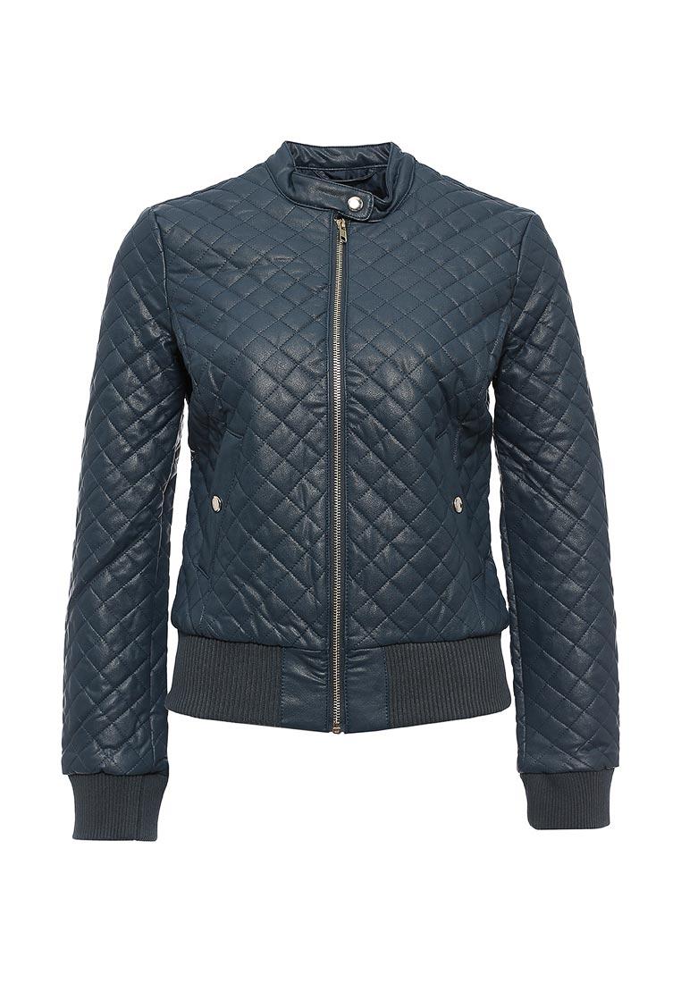 Кожаная куртка oodji (Оджи) 28A03001/45639/7400N