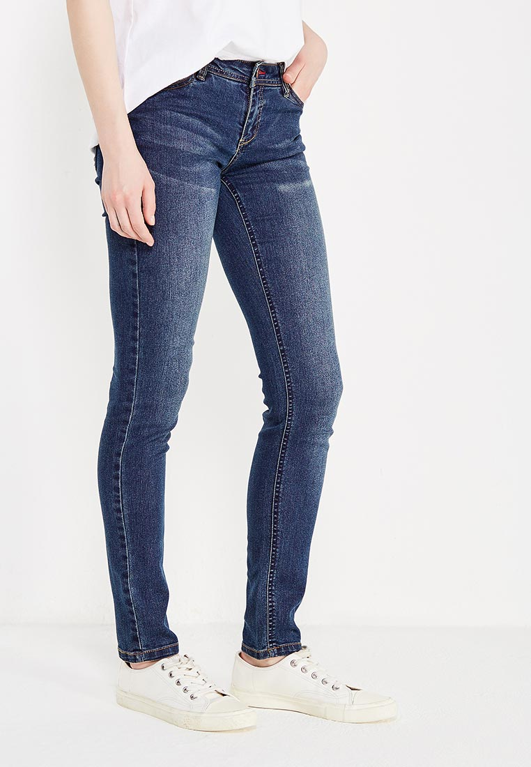 Зауженные джинсы oodji (Оджи) 12103126/19603/7900W
