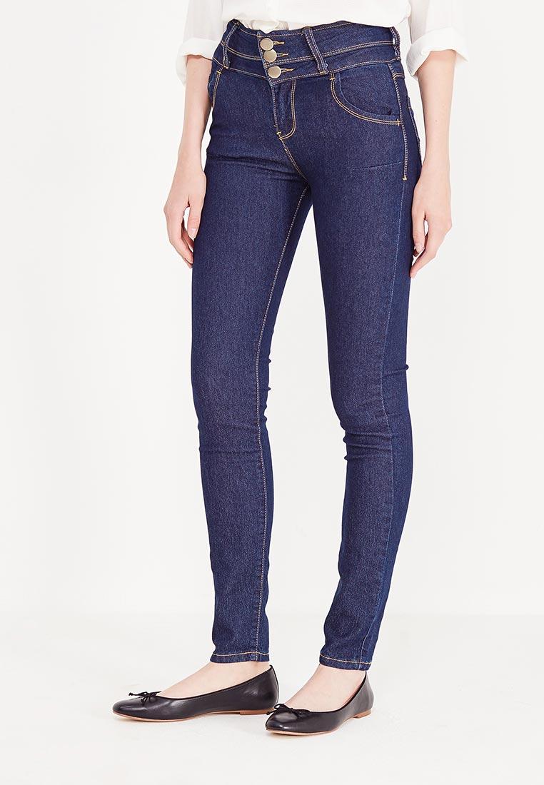 Зауженные джинсы oodji (Оджи) 12104053/18831/7900W