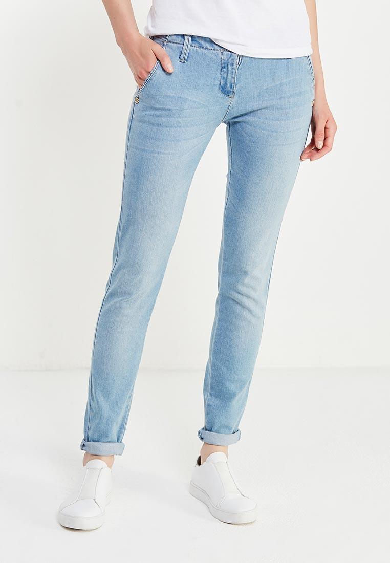 Зауженные джинсы oodji (Оджи) 22103053/33636/7000W
