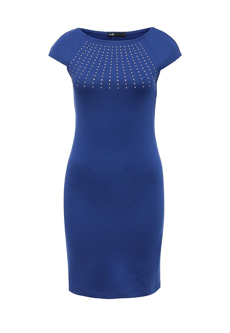 Платье-мини oodji (Оджи) 14007020-3M/16564/7500N