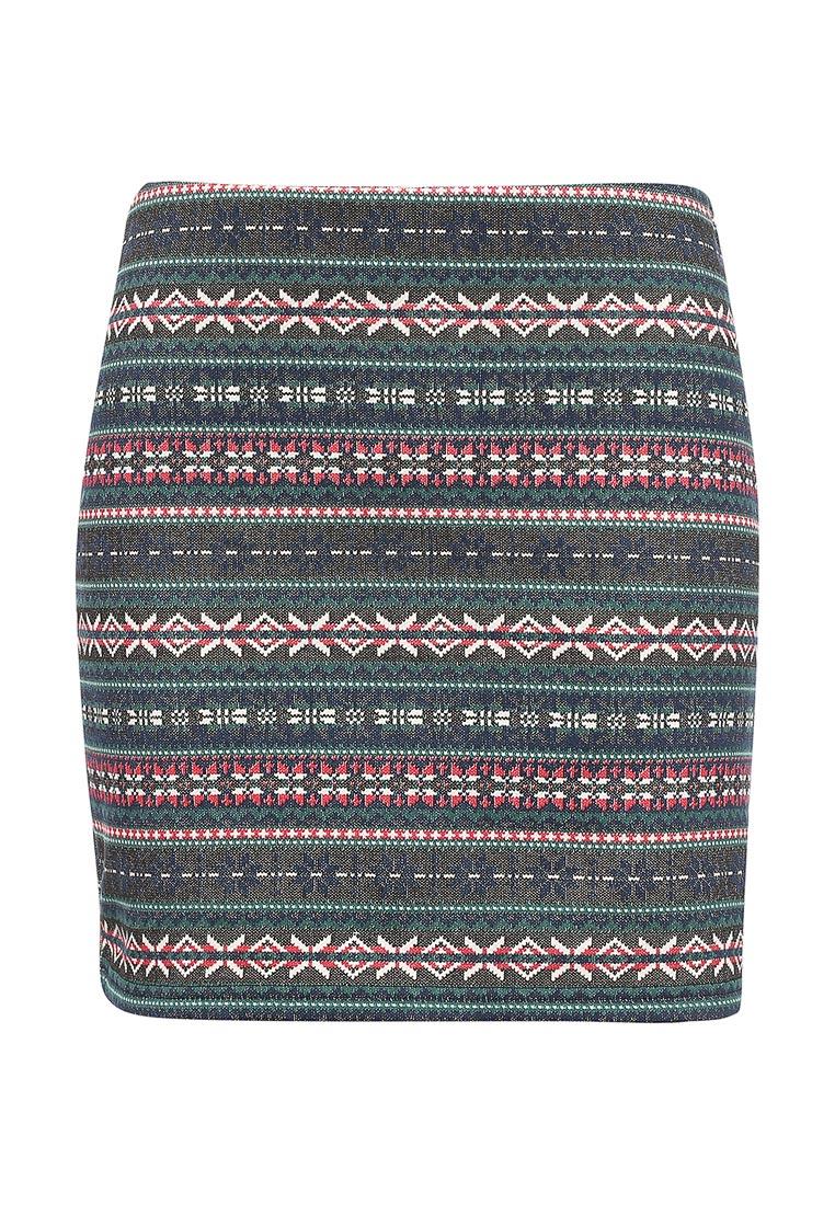 Прямая юбка oodji (Оджи) 14101045-1/27310/2979J