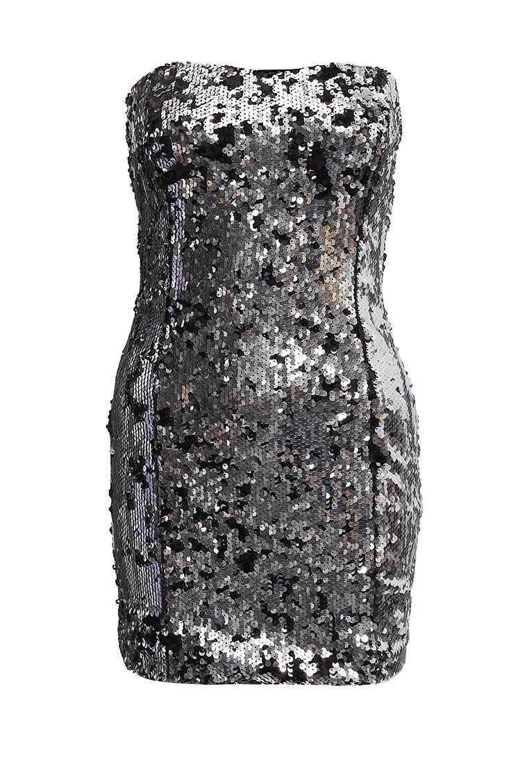 Платье-мини oodji (Оджи) 14006054/24472/2991B