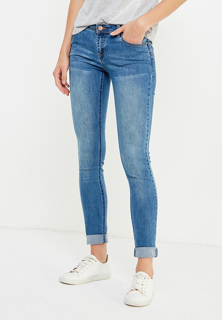 Зауженные джинсы oodji (Оджи) 12103126/19603/7000W