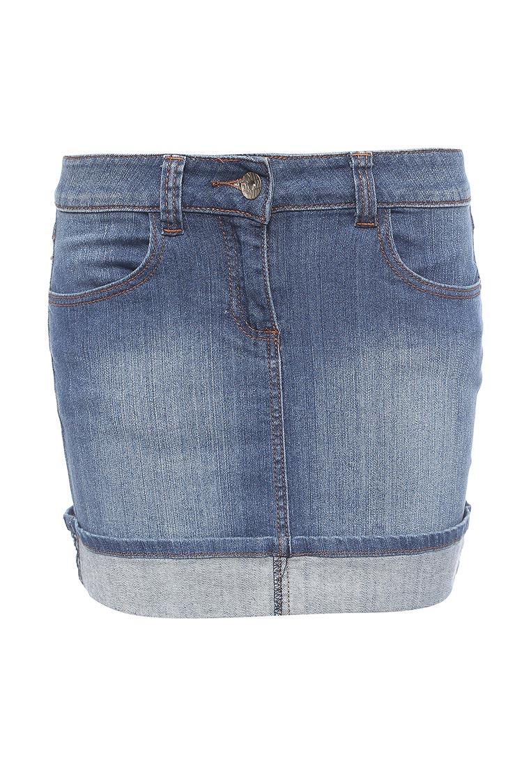 Джинсовая юбка oodji (Оджи) 11509009/11576/7500W