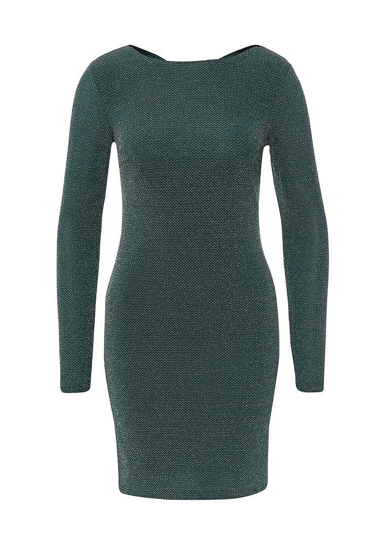 Вечернее / коктейльное платье oodji (Оджи) 14000165-1/46124/6E00X