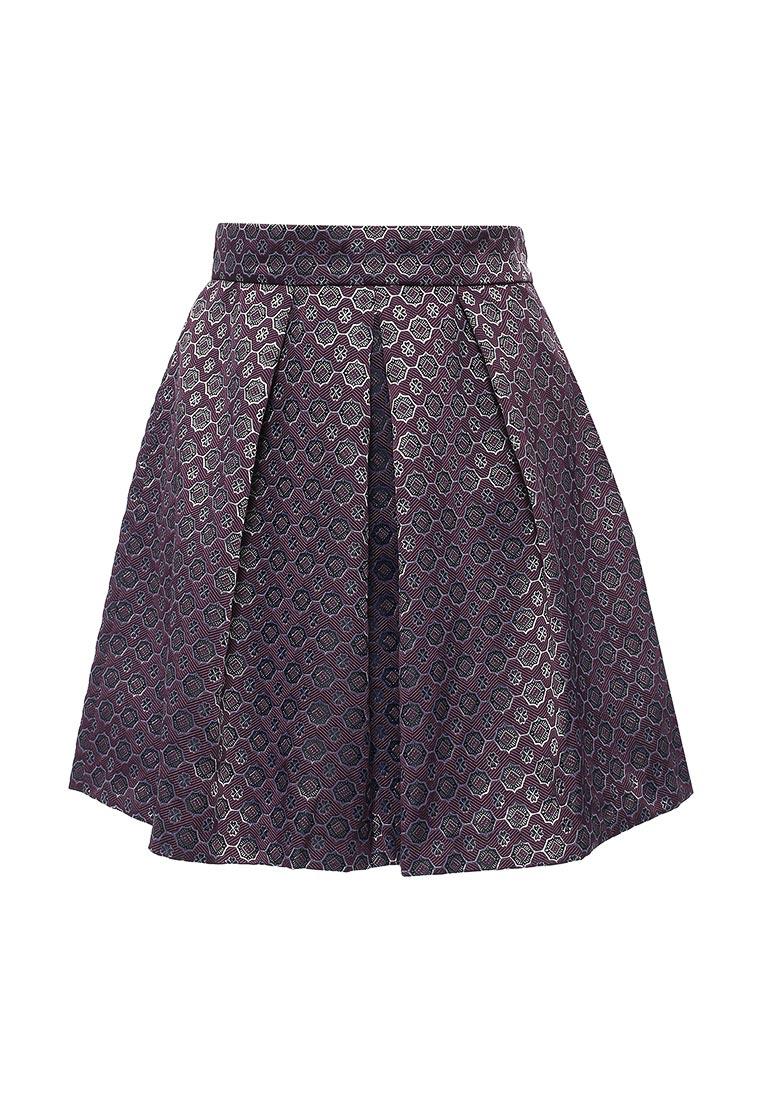 Широкая юбка oodji (Оджи) 11600396-3/45935/8829G