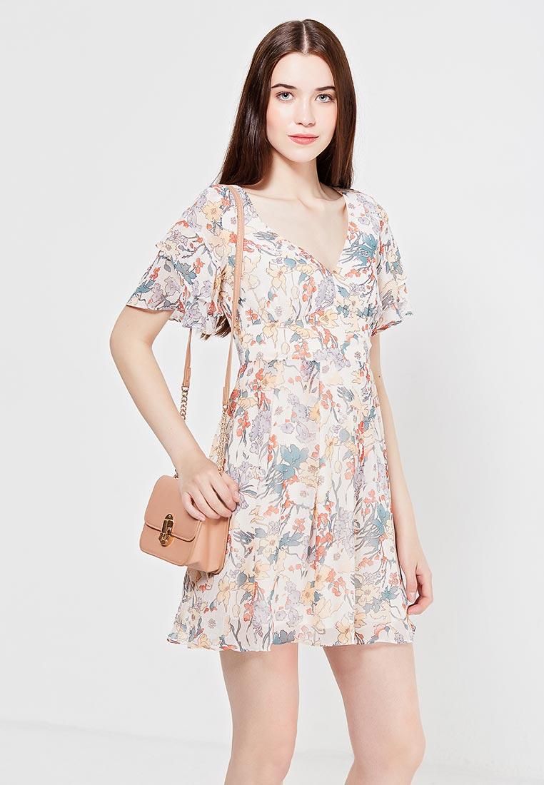 Платье-мини oodji (Оджи) 11900204M/38375/4019F