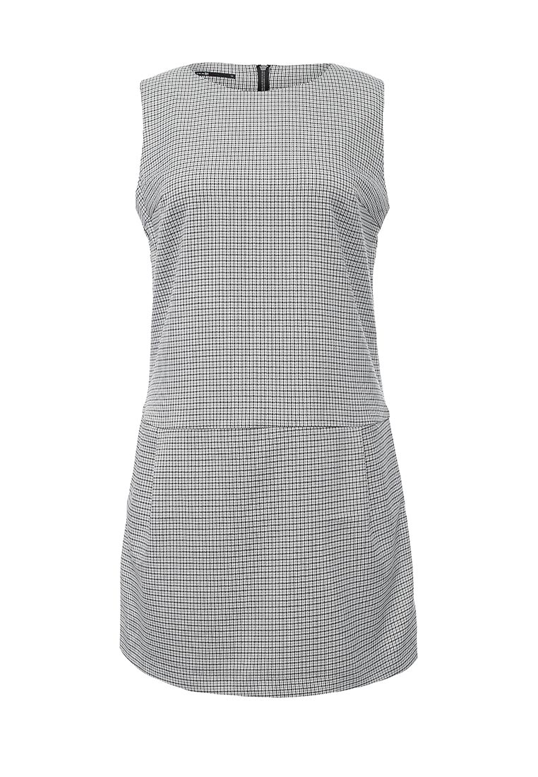 Платье-мини oodji (Оджи) 11910072-4/46284/1229C
