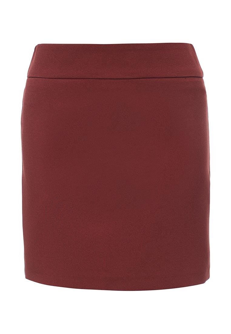 Прямая юбка oodji (Оджи) 11600399-1B/14917/3100N